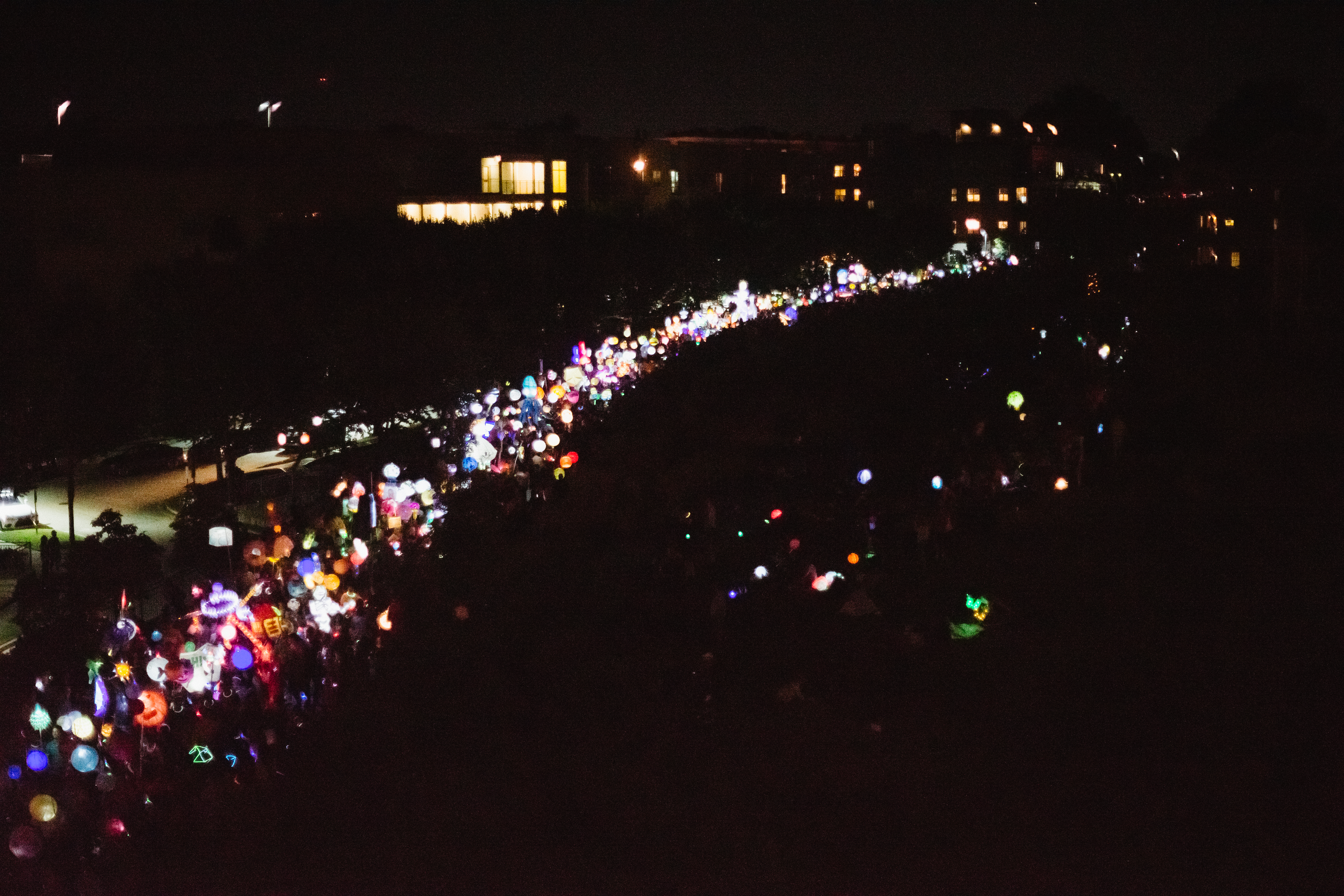 Growing from its modest roots, over 60,000 people light up the BeltLine during the lantern parade each fall.