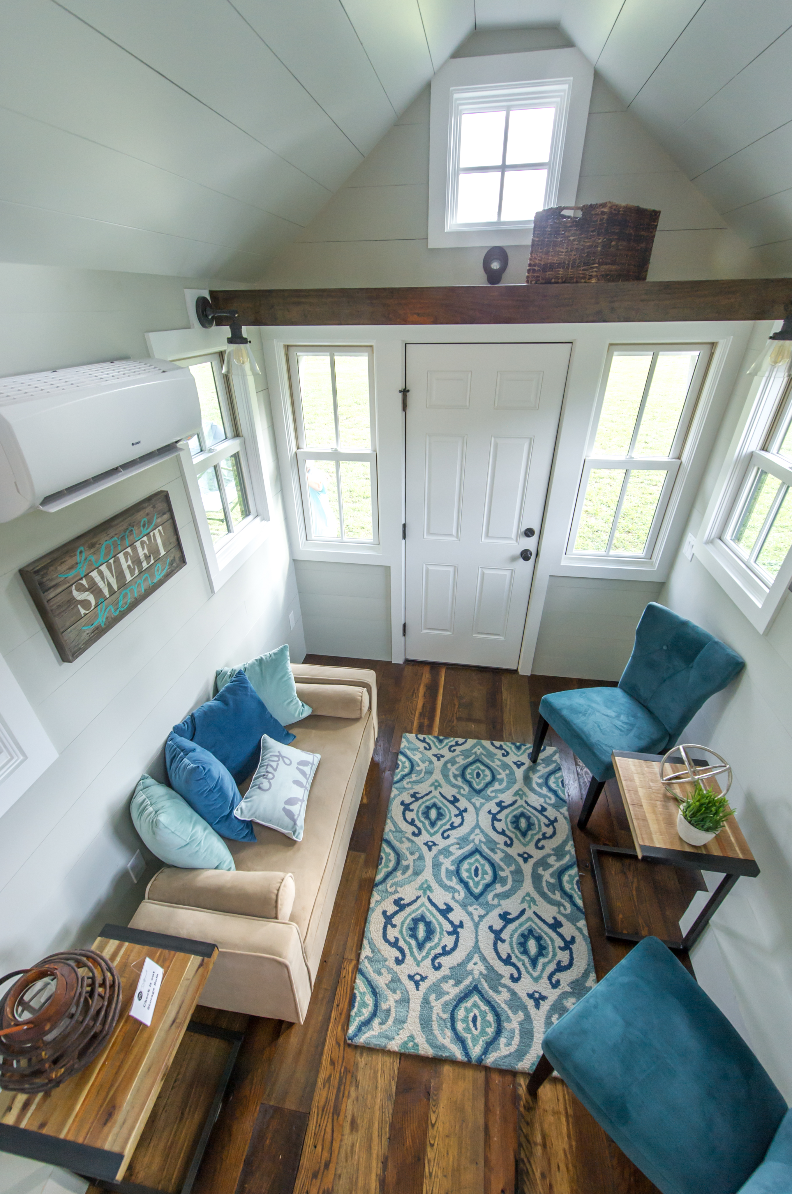 Tiny houses feature all the comforts of home.